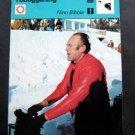 1977-1979 Sportscaster Card Tobogganing Nino Bibbia 10-05