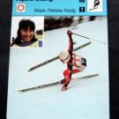 1977-1979 Sportscaster Card Alpine Skiing Marie-Therese Nadig 13-22