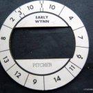 Cadaco All-Star Baseball Game Disk Early Wynn Pitcher