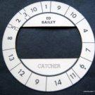 Cadaco All-Star Baseball Game Disk Ed Bailey Catcher