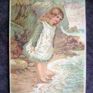 1880s Alden Fruit Vinegar -  A J Coursen - Staples & Fancy Groceries ~Trade Card