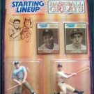 1989 Starting Lineup SLU Baseball Mickey Mantle and Joe Di Maggio NY Yankees MOC