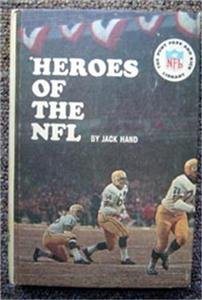 Heroes of the NFL Football Book by Jack Hand 1965 Punt Pass & Kick Library