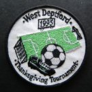 West Deptford New Jersey 1995 Thanksgiving  Soccer Tournament Cloth Patch