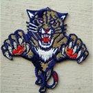 "Florida Panthers NHL Hockey Patch 2 1/2"" Die Cut"
