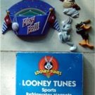 Looney Tunes Sports Refrigerator Magnets MIB Bugs Bunny Daffy Duck Taz Baseball