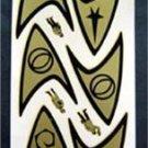 Vintage Star Trek Insignia # 1801 15 Decals Mint on Sheet