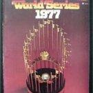 1977 World Series Baseball Program NY Yankees vs Los Angeles Dodgers