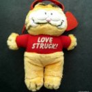 "Garfield the Cat Love Struck! Valentine Plush Figure with Suction Cup 8"" Tall"