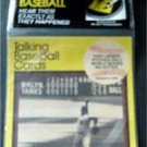 1989 CMC Talking Baseball Card 33 RPM Record # 7 Don Larsen Pitches WS No Hitter