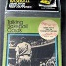 1989 CMC Talking Baseball Card 33 RPM Record # 5 Babe Ruth Day at Yankee Stadium
