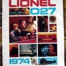 1974 Lionel 027 Original Sales Catalog Brochure
