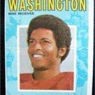 1971 Topps Football Pin Up Poster Insert #1 Gene Washington San Francisco 49ers