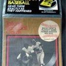 1989 CMC Talking Baseball Card 33 RPM Record # 2 Bucky Dent's Playoff Homer