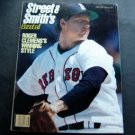 1987 Street & Smith's Baseball Magazine Roger Clemens Red Sox Cover