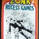 Zonk Magazine Recess Games 1980 Humorous Cartoon Rare