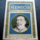 The Mentor Magazine March 1925 Vintage Ads Joseph Conrad New Orleans Illustrated