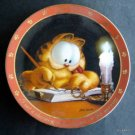 "Garfield the Cat Danbury Mint 8"" Plate Dear Diary Series Charming Cat E1216"