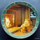 "Garfield the Cat Danbury Mint 8"" Plate Dear Diary Series Uncle Ed # E1216"