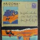 Vintage 1941 Arizona Grand Canyon Fred Harvey Souvenir Post Card Folder