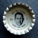 1960's TAB Bottle Cap Football NFL All Stars Gary Ballman