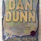 Big Little Book Dan Dunn Secret Operative # 48 Crime Master