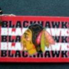 "Chicago Blackhawks NHL Hockey Plastic Key Chain Tag Express 2 1/4"""