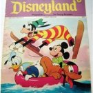 Disneyland Magazine # 74 Mickey Mouse Donald Duck Pluto & Goofy Cover 1973