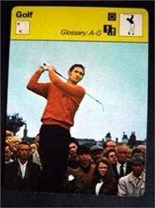 1977-1979 Sportscaster Card Golf Glossary A-G 08-14