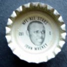 1960's TAB Bottle Cap Football NFL All Stars John Mackey