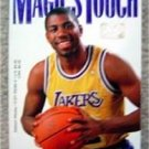Magic's Touch Book by Earvin Magic Johnson 1989 Paperback Basketball