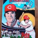 Pete Rose Reds Baseball Superstars Comics 1992