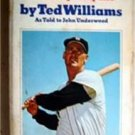 My Turn at Bat My Life Ted Williams Book Red Sox 1969