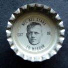1960's TAB Bottle Cap Football NFL All Stars Ed  Meador