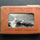 1930's 16 Selected Views of the Pennsylvania Super Highway Turnpike in Folder