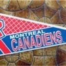 Montreal Canadiens NHL Hockey Pennant