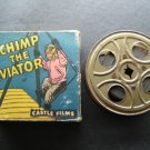 Rare Chimp the Aviator Castle Films 16 MM Headline Edition No 617