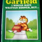 Garfield the Cat I Would Have Written Sooner, But . . . Book  by Jim Davis 1983