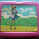 1980 Mattel Barbie Pink Plastic Lunch Box No Thermos