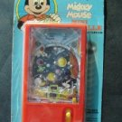 Vintage 1970s Walt Disney MICKEY & DONALD Space Arcade Mini Bagatelle Game MIP