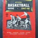 1947-48 Official Collegiate Basketball Guide Book