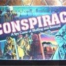 Conspiracy Board Game Spy Bluffing Betrayal 1982 Milton Bradley