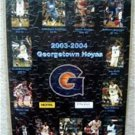 Georgetown University Hoyas Puzzle and Poster 2003-2004