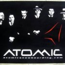 ATOMIC Snowboard Sports Store Window Display Promotional Poster MINT