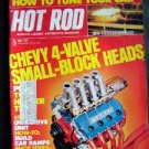 Hot Rod May 1974 Chevy 4 Valve Heads Daytona 450 Ivo Crash Headers Bultaco 350