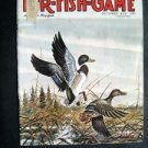 OCT 1973 FUR-FISH-GAME Mallard Ducksl Cover Tim Johnson  Fish Hunt Outdoor Sport