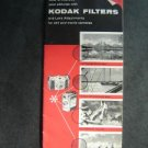 May 1956 Brochure Kodak Filters & Lens Attachments for Still & Movie Camera
