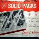 1950s MERRY CHRISTMAS GREETINGS CARDS SALESMAN SAMPLE ADVERTISING BOOK