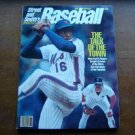 1986 Street & Smith's Baseball Magazine Dwight Gooden Don Mattingly Cover