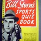 Bill Stern's Sports Quiz Book 1950 NBC Radio 2000 Questions & Answers